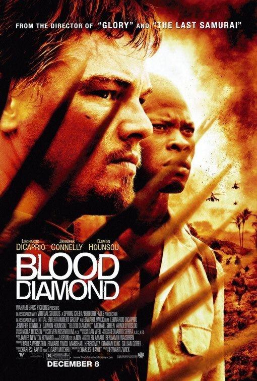 La locandina di Blood Diamond