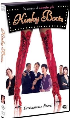 La copertina DVD di Kinky Boots - Decisamente diversi