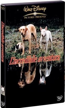 La copertina DVD di L'incredibile avventura