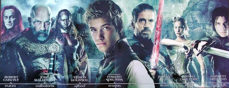 Un'immagine promozionale realizzata per  Eragon