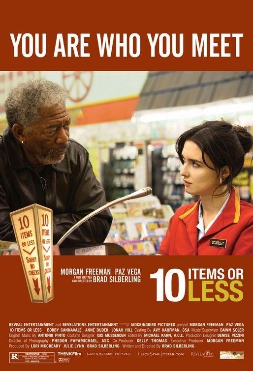 La locandina di 10 Items or Less