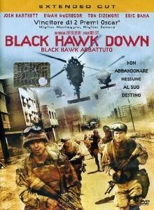 La copertina DVD di Black Hawk Down - Extended Cut