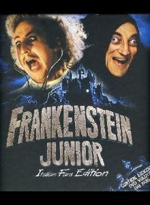 La copertina DVD di Frankenstein Junior - Monster Box