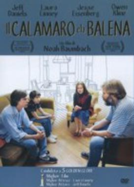 La copertina DVD di Il calamaro e la balena