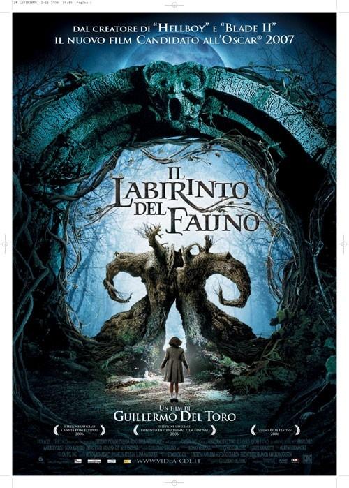 La locandina italiana di Il labirinto del fauno