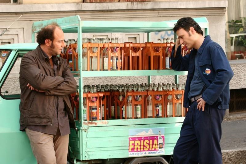 Ale e Franz in una scena del film Mi fido di te (2006)