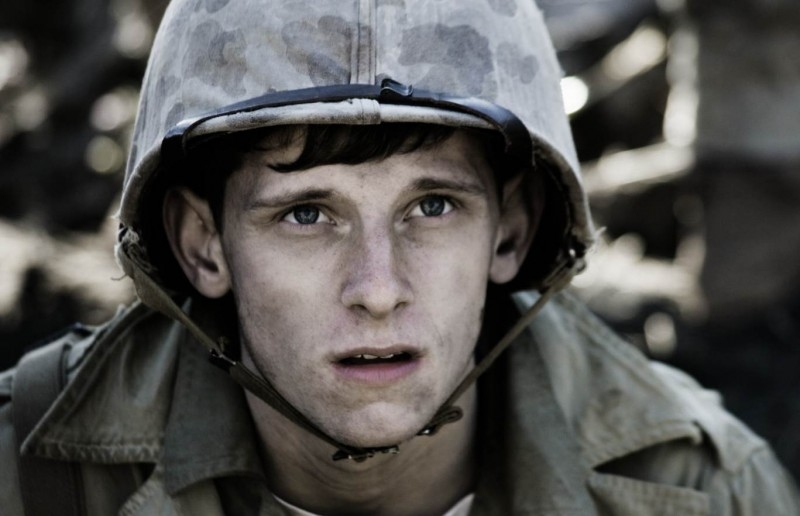 Jamie Bell in una scena di Flags of Our Fathers