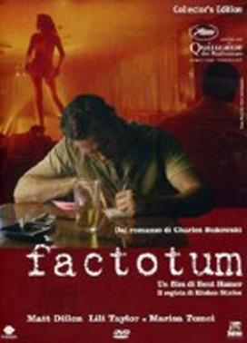 La copertina DVD di Factotum - Edizione speciale