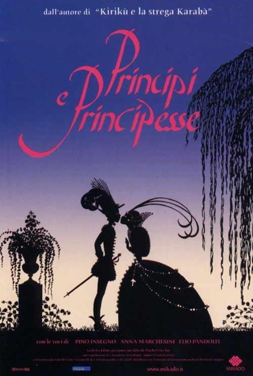 La locandina di Principi e principesse