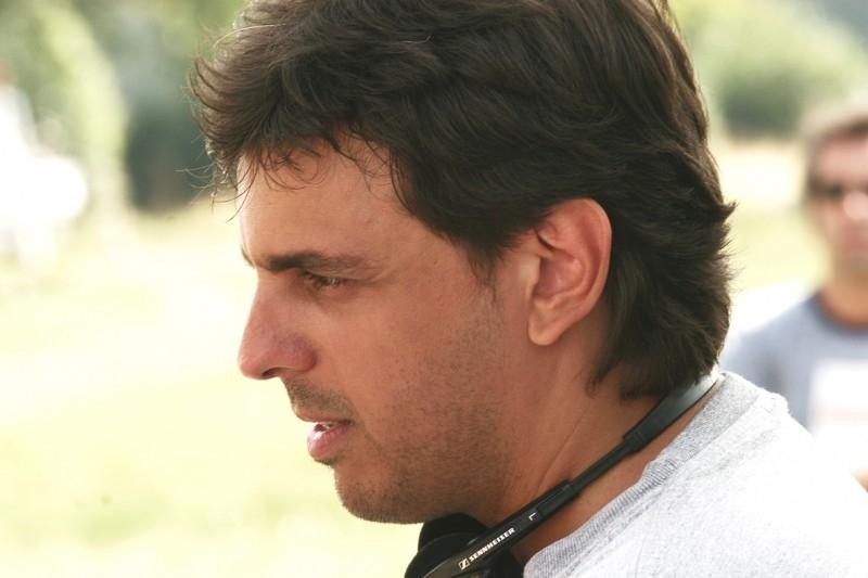 Massimo Venier sul set del film Mi fido di te