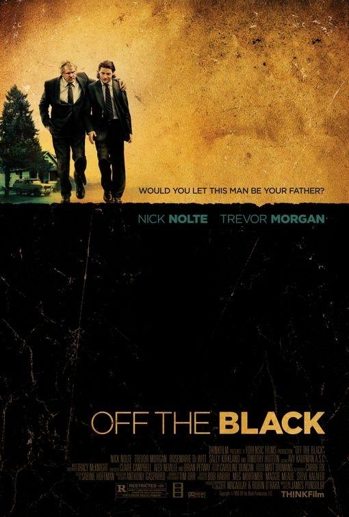La locandina di Off the Black