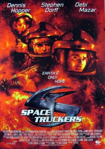 La locandina di Space Truckers