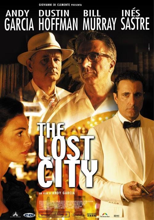 La locandina italiana di The Lost City