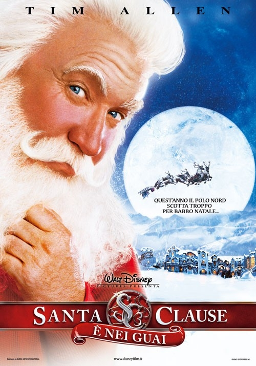 La locandina italiana di The Santa Clause 3