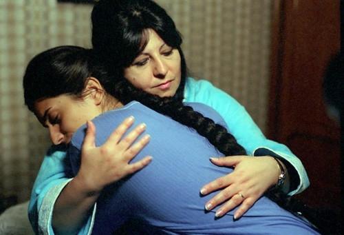 Annamaria Barbera in una scena del film Ma l'amore... sì