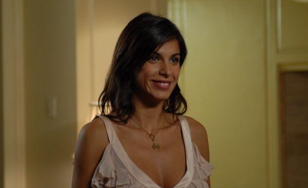 Elisabetta Canalis in una scena del film Natale a New York