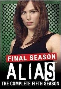 La copertina DVD di Alias. Stagione 5