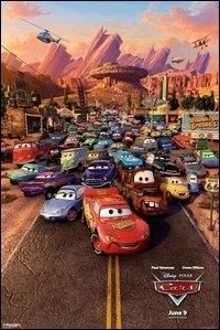 La copertina DVD di Cars - Motori Ruggenti