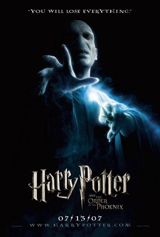 La locandina di Harry Potter e l'Ordine della Fenice