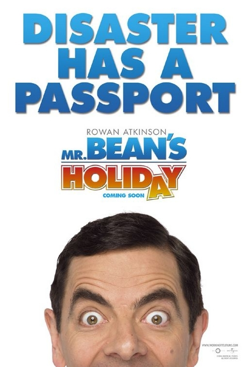 La locandina di Mr. Bean's Holiday