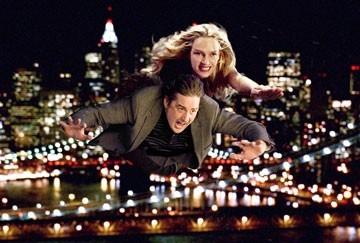 Uma Thurman e Luke Wilson in una scena de La mia Super Ex-Ragazza