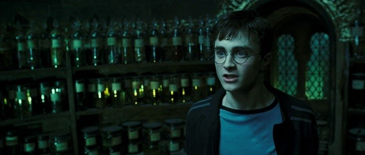 Radcliffe in una scena del film Harry Potter e l'Ordine della Fenice