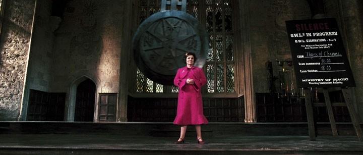 La Staunton in una scena di Harry Potter e l'Ordine della Fenice