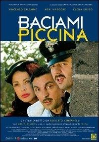 La copertina DVD di Baciami piccina