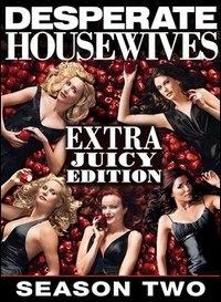 La copertina DVD di Desperate Housewives. Stagione 2