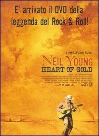 La copertina DVD di Neil Young. Heart of Gold