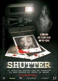 La copertina DVD di Shutter
