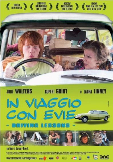 La locandina italiana di Driving Lessons