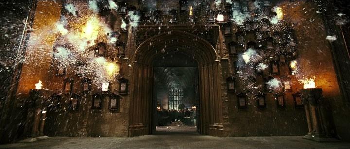 Una scena del film Harr Potter e l'Ordine della Fenice