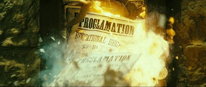 Una bella scena del film Harry Potter e l'Ordine della Fenice