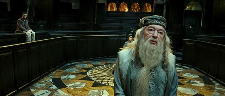 Una scena del film Harry Potter e l'Ordine della Fenice
