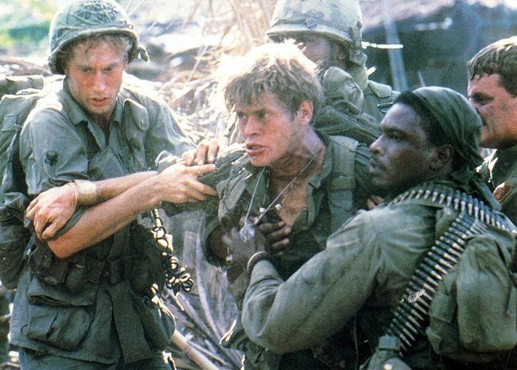scena del film Platoon