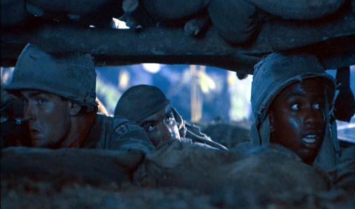 Immagine tratta dal film Platoon
