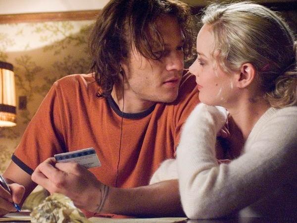 Abbie Cornish ed Heath Ledger in Paradiso + Inferno