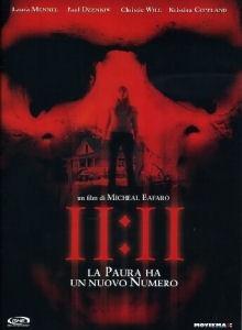 La copertina DVD di 11:11
