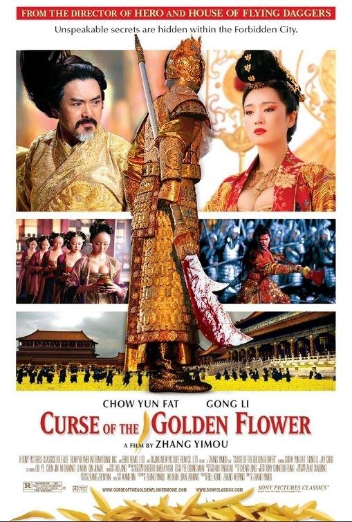 La locandina di Curse of the Golden Flower