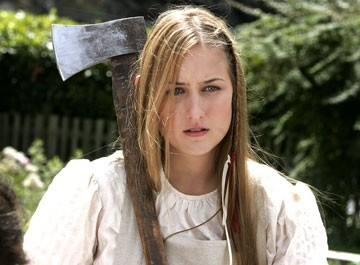 Leelee Sobieski in una scena del film The Wicker Man
