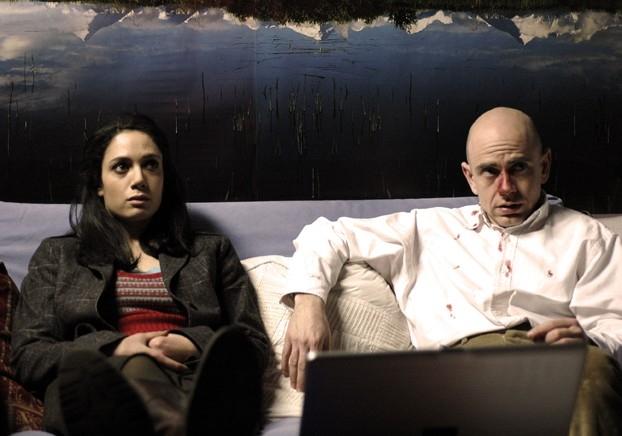 Rolando Ravello e Samuela Sardo in 'Terapia d'urto' episodio della serie Crimini