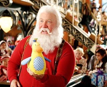Tim Allen in una scena di Santa Clause è nei guai (2006)