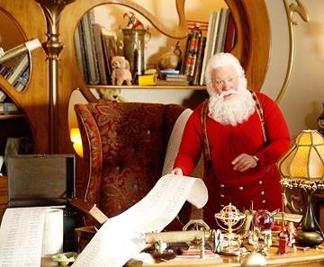 Tim Allen in una scena di Santa Clause è nei guai