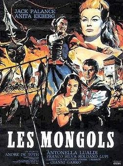 La locandina di I mongoli