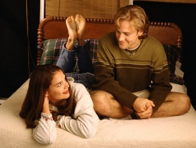 Katie Holmes con James Van Der Beek  in Dawson's Creek