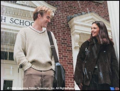 Katie Holmes e James Van Der Beek  in Dawson's Creek
