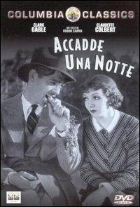 La copertina DVD di Accadde Una Notte