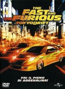 La copertina DVD di The Fast and the Furious: Tokyo Drift