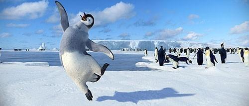 Una immagine tratta dal film Happy Feet